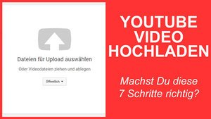 YouTube Video hochladen thumbnail