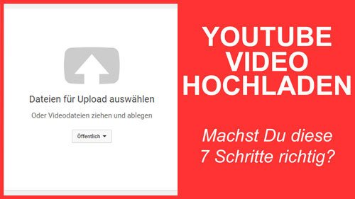 YouTube Video hochladen thumbnail