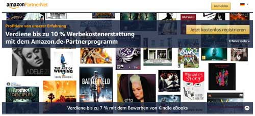 geld verdienen auf youtube mit amazon partnernet