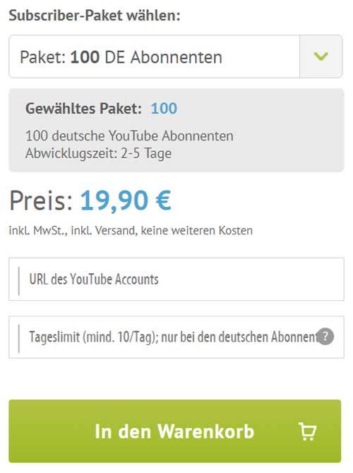 social media daily follower kaufen