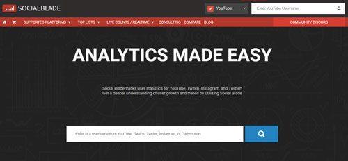 youtube einnahmen herausfinden ueber socialblade