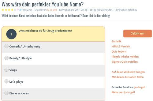 youtube name erstellen test
