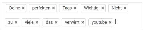 youtube tags setzen fuer mehr views